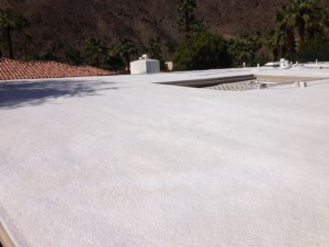 Foam Roofing Palm Desert Installation